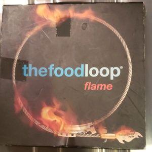 Foodloop flame roll it, stuff it, loop it, grill!!